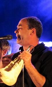 Laurent Cavalié met en musique Jean-Marie Petit et Léon Cordes pour La Mal Coiffée (photo MN)