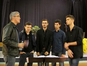 Le groupe s'était constitué en 2011 à Ansouis, où il a enregistré son premier CD en aout dernier (photo MN)
