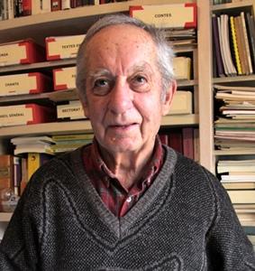 André Faure, le fondateur de la Calandreta (photo MN)