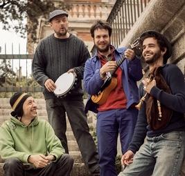 Ange B, Manu Théron, Henri Maquet et Clément Gauthier (photo Santi Oliveri DR)