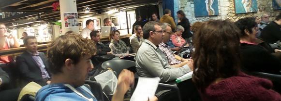 Les enseignants venaient échanger de Corse, Bretagne ou d'ailleurs (photo XDR)