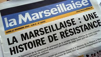 En 2014 mise en vente du Journal et rachat par les Editions des Fédérés, proches du PCF (photo XDR)