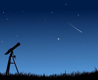 Pluies d'étoiles filantes surtout dans la nuit de mardi à mercredi, si l'éclairage de ville ne vous en prive pas... (photo XDR)