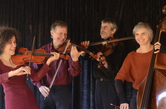 Le quatuor Drailles, Patrice Gabet est le second à g. (photo XDR)