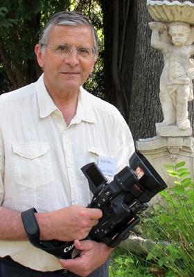 Miquèu Gravier l'organisateur du Festival de Sant-Gervasi (photo XDR)