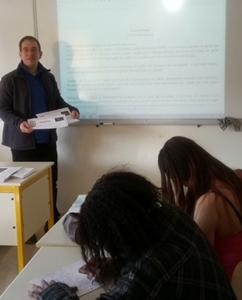 Au collège comme un acte de résistance douce face aux réformes occitaniides (photo XDR)
