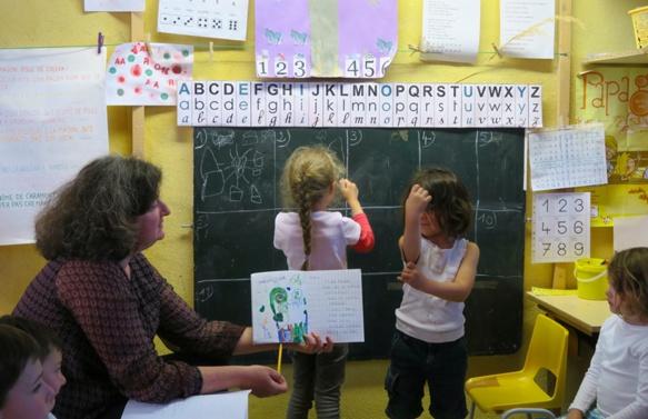 Maternelle de la Calandreta Gapiana. Un second poste enseignant est à pourvoir (photo MN)