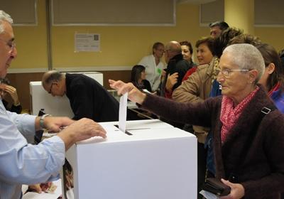 9 novembre 2014, la consultation qui lance le processus pour l'autodétermination (photo MN)