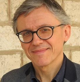 Jean-Luc Gag, Selon lui, le théâtre, parce qu'il parle de la vie, de façon vivante, peut jouer un rôle dans l'envie des jeunes d'apprendre la langue d'oc (photo MN)