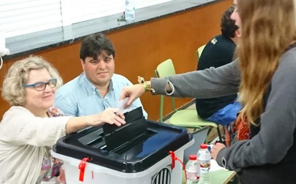 A voté ! (photo MN)