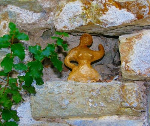 Ex-voto à l'ermitage, Haute-Provence (photo MN)