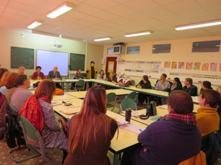 Une réunion d'ensemble pour relancer l'initiation à la langue d'oc dans les écoles (photo DR DR)