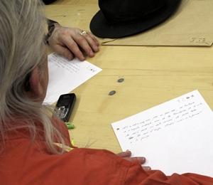 L'occitan est une langue avec  ses règles, quelle que soit la graphie utilisée, et les correcteurs auront du boulot ! Ici à Gap en 2015 (photo MN)