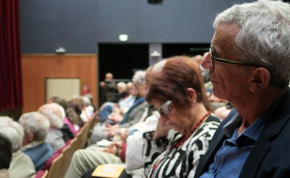 Impliqué dans le Forum d'Oc, ici au congrès de Forcalquier, en octobre 2017 (photo MN)