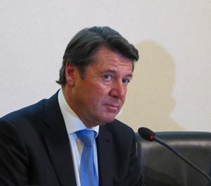"""Le président de la Métropole a voulu alerter le gouvernement sur la """"situation critique de l'enseignement du niçois"""" (photo MN)"""
