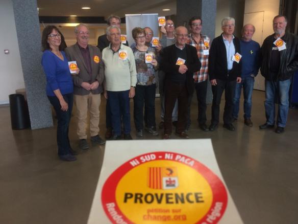 14 000 signataires à ce jour et 14 communes, le nom de Provence aurait pourtant du s'imposer de lui-même, en Provence... (photo XDR)
