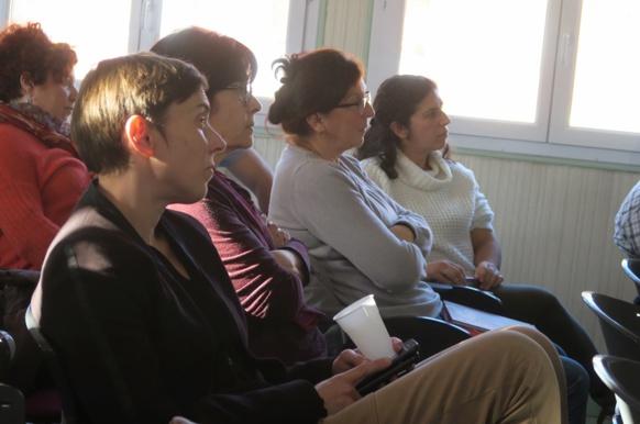 Fin janvier les acteurs de la politique de la lecture publique, du secteur associatif, de l'enseignement...Réunis à Digne pour une journée de sensibilisation et de connaissance des actions déjà engagées par le CD04 (photo MN)