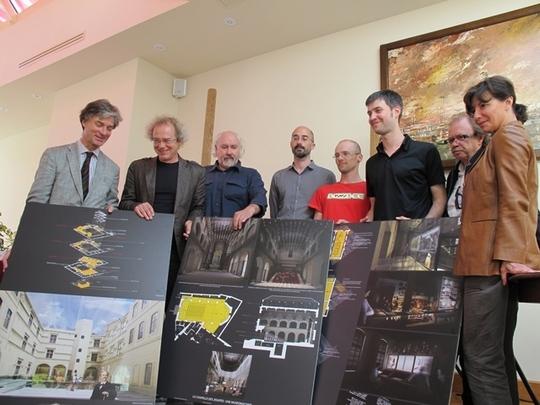 Les architectes nantais de Tetrarc présentent un projet de musée de musée…(photo MN)