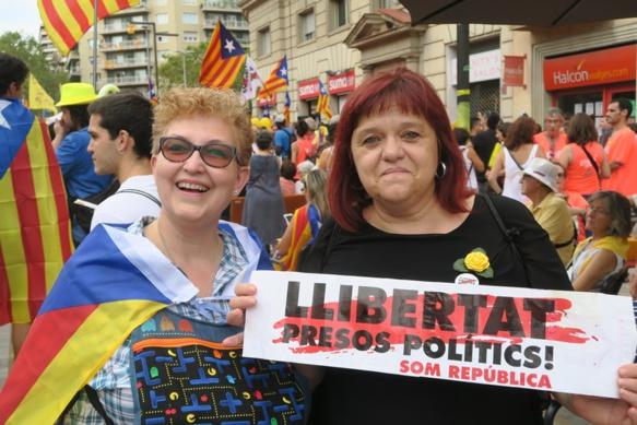 """Paula & Luz : """"s'ils nous détestent tellement, pourquoi ne nous laissent-il pas divorcer?"""" (photo MN)"""