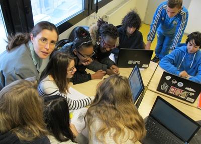 La réforme des collèges a provoqué une décrue des cours d'occitan (photo MN)