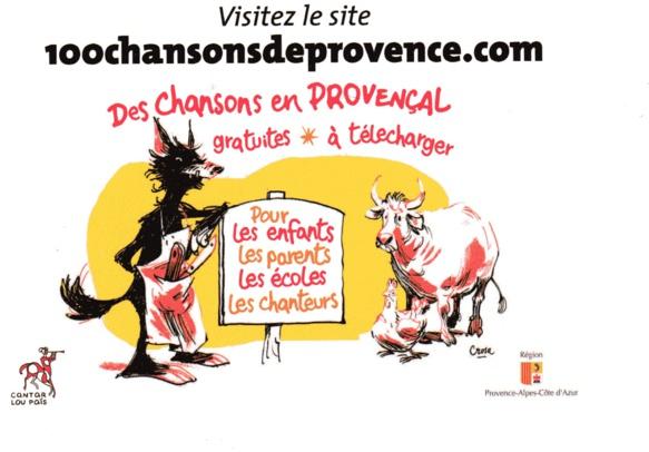 Cent chansons de Provence pour tous
