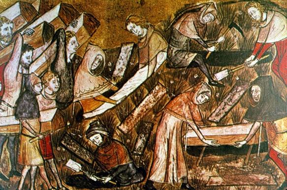 La grande peste du XIVè-XVè siècle dépeuple la Provence, et le Roi René envoie des recruteurs à Naples pour favoriser l'immigration d'agriculteurs, ils seront exemptés d'impôts durant dix ans (photo Archives DR)