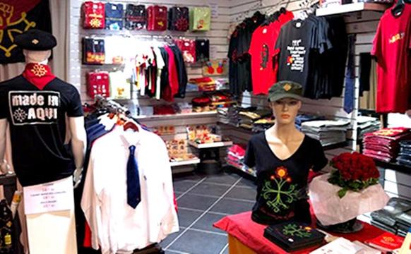 La boutique à Toulouse, toujours achalandée, n'attend plus que le rétablissement du site web pour les commandes (photo XDR)