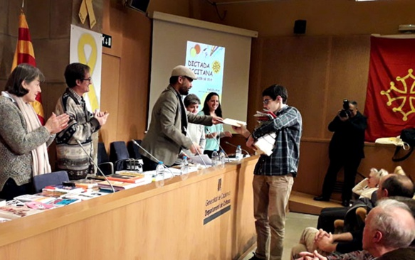 A Barcelona 86 personnes ont participé, sous l'égide du Caoc (photo David Ferré DR)