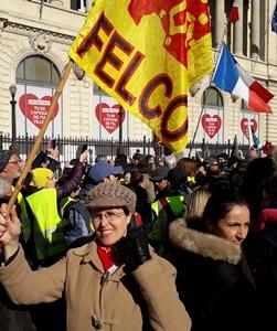 Une présence à Marseille, avec d'autres publics de la communauté éducative, et sous la bannière de la Felco (photo XDR)