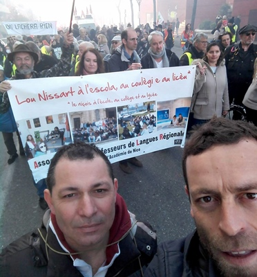 A Nice mobilisation forte aussi  (photo XDR)