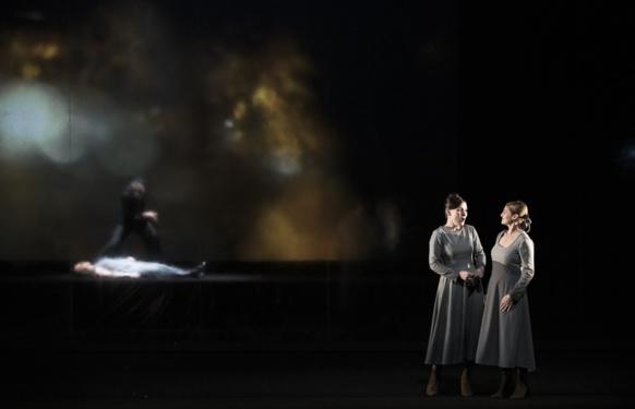 Forêts profondes, interventions malignes, sombre...les prémices du Romantisme dans l'opéra (photo Julien Benhamou DR)