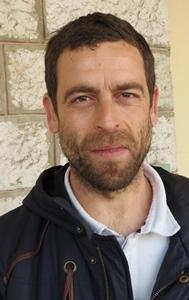 Olivier Pasqueti (APLR) face à la caméra pour mobiliser le public en faveur de la langue de son pays (photo MN)