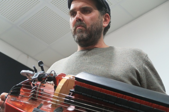 En résidence Cité de la Musique de Marseille, en janvier 2019 ( photo MN)