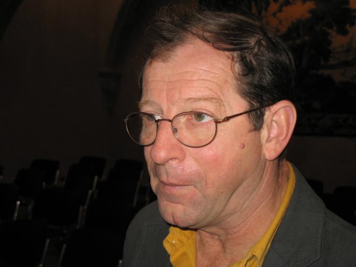 """""""Depuis 1995 de nombreuses études montrent l'intérêt de nos enseignements en immersion"""" souligne Jean-Louis Blénet, à l'attention du ministre de l'Education (photo MN)"""