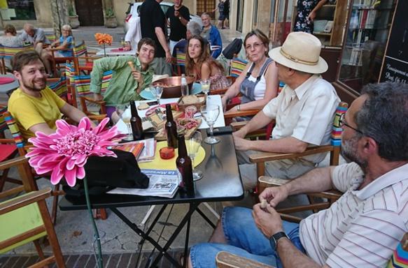 Dernier né en Provence, le Café Provençal de Manosque, au printemps dernier (photo MN)