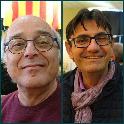 """François Malabave (Radio Mistral) et Jean-Luc Icard (Haute Provence Info) : aucun des deux n'est provençalophone, mais tous deux souhaitent ouvrir antenne et colonnes à la langue du pays, """"si possible plus encore"""". La limite ? Trouver des rédacteurs et locuteurs capables (photo MN)"""