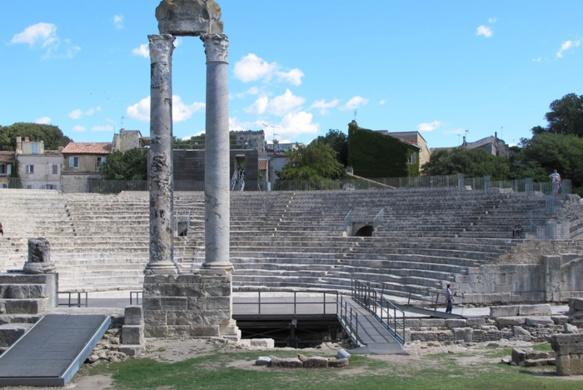 Arles distinguée pour sa capacité à faire entrer le sport dans le quotidien...Une vieille habitude (photo MN)