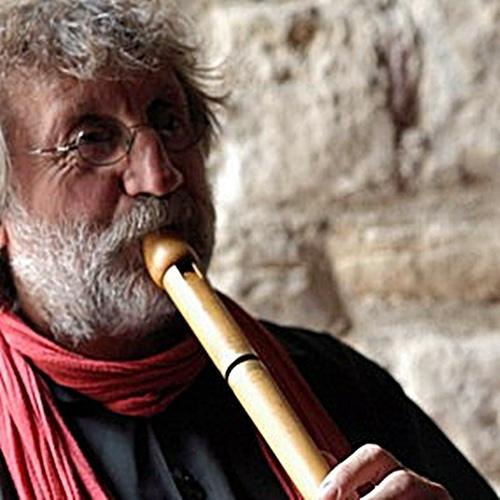 Le Chantier avait été créé par le musicien trad Miquèu Montanaro, à l'affiche lors de cette seizième édition (photo XDR)
