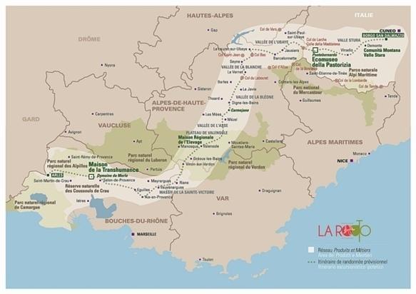 Trois cents kilomètres d'histoire, de savoir-faire, de restauration et d'hébergement  (XDR)