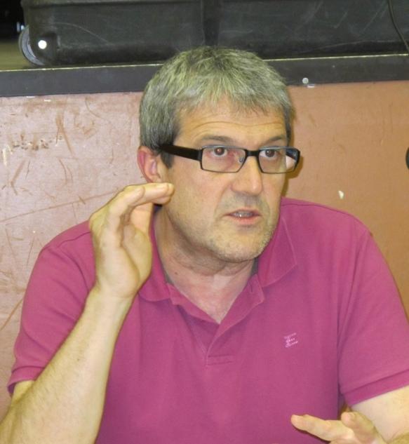 Frédéric Saujat, chercheur à l'IUFM d'Aix-en-Provence (photo MN)