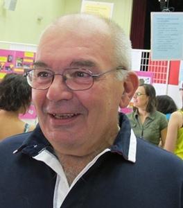 Roland Boyer, de la Mission académique langue régionale des Bouches-du-Rhône (photo MN)