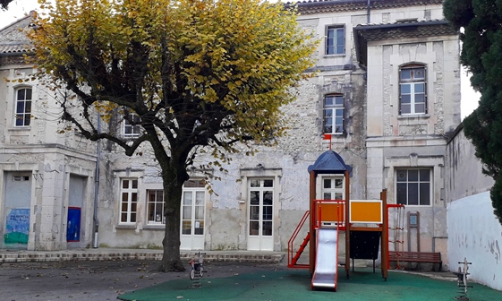Les locaux occupés précédemment par la Croix-Rouge de Valréas, sont vastes et en voie d'aménagement (photo XDR)
