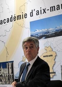 """Ses conseillers ont dit au nouveau recteur que """"l'enseignement du provençal est satisfaisant"""" (photo MN)"""