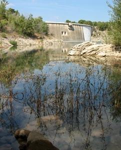 Sans eau pas d'énergie non plus en Provence (photo MN)