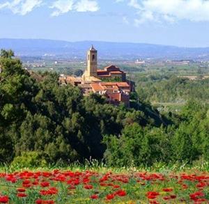 Le village de Corbins, dans le Segriá : rural et agricole, une destination bien moins touristique que le littoral catalan (photo XDR)