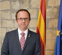 """Daniel Camós, le délégué de la Generalitat de Catalunya en France : """"Face a la covid qui circule la Catalogne a décidé d'être réactive afin d'éviter un confinement plus important et ses conséquences économiques et sociales """" (photo XDR)"""