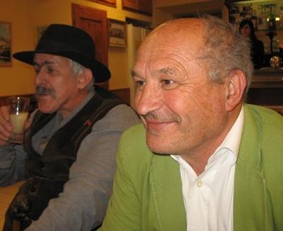 Passionné par le monde de la truffe, Bernat Vaton y a vu l'occasion de susciter l'intérêt régional pour  la langue occitane (photo MN)