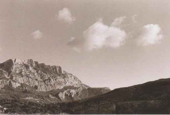 """Une approche """"a chapauc"""" de Venturi (photo B Plossu)"""