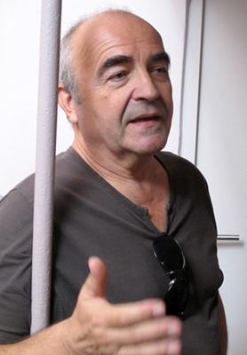 Jean-Jacques Murat (photo), Gérard Tautil, entre autres,signent les textes qui parlent du travail, de la sueur et de la noblesse de l'ouvrier ou du paysan (photo MN)