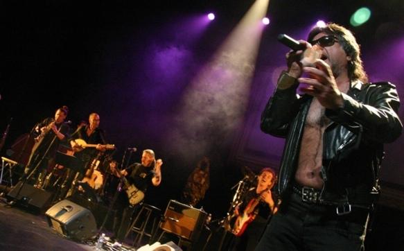 Le groupe Quartiers Nord en 2007, un rock marqué par son origine socio géographique  (photo Frédéric Pauvarel DR)